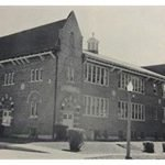 """Original CCHS Building, formerly known as """"Saint Mary's High School."""""""