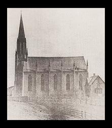 Burlington's Saint Mary's Church 1859