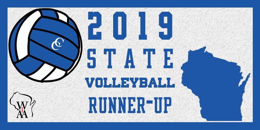 2019 State Volleyball Runner ups CCHS