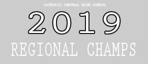 2019 CCHS Volleyball Regional Champions