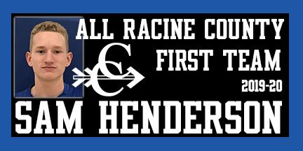 Sam Henderson earns All Racine County Cross Country 2019