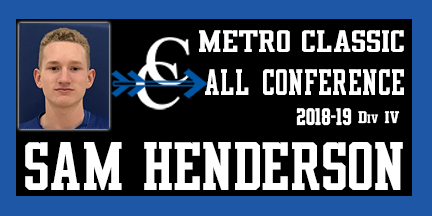 Sam Henderson CCHS, All Conference 2019 Cross Country