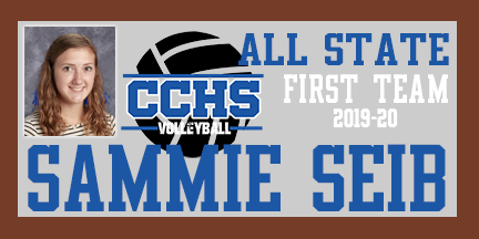 CCHS Sammie Seib earns 1st Team All-State Honors 2019