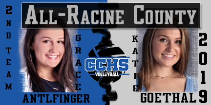 All Racine County Volleyball 2019