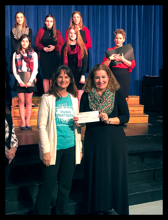 Music Matters donates to CCHS Theater
