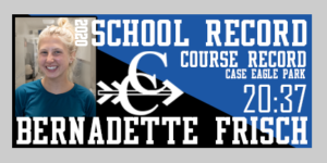 Bernadette Frisch breaks record in cross country