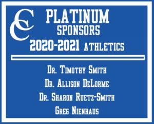 Platinum Booster Club Sponsors at CCHS
